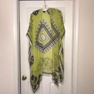 Open side kimono